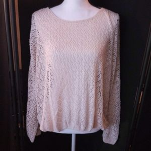 NWT forever21 open knit shirt